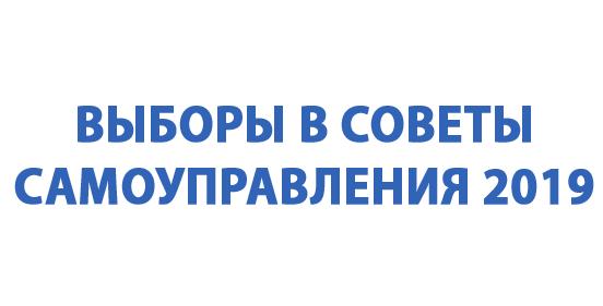 Savivaldybių Rinkimai 2019